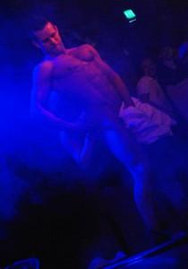 Manlig strippa